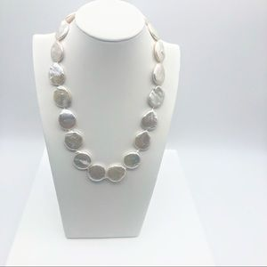 Jewelry - Freshwater Pearl Disc Necklace
